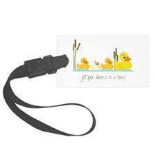 In A Row Luggage Tag