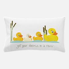 In A Row Pillow Case