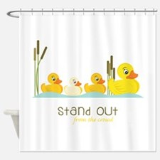 Stand Out Shower Curtain