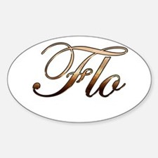 Flo Sticker (Oval)