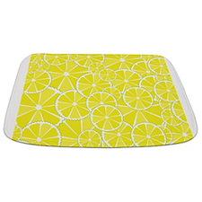 Lemon slices Bathmat