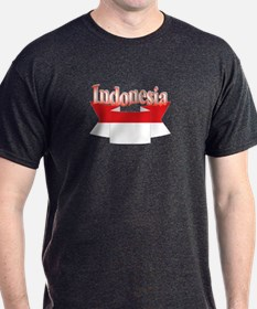 Indonesian flag ribbon T-Shirt