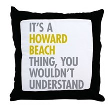 Howard Beach Queens NY Thing Throw Pillow
