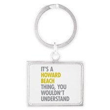 Howard Beach Queens NY Thing Landscape Keychain