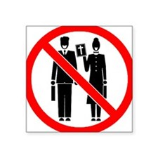 no_preaching Sticker