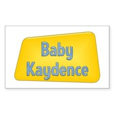 Baby Kaydence Rectangle Decal