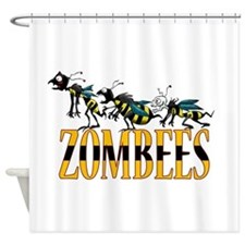 ZOMBEES Shower Curtain