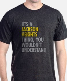 Jackson Heights Queens NY Thing T-Shirt