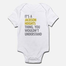 Jackson Heights Queens NY Thing Infant Bodysuit