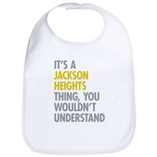 Jackson Heights Queens NY Thing Bib