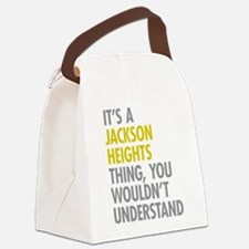 Jackson Heights Queens NY Thing Canvas Lunch Bag
