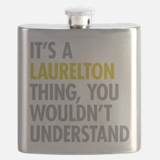 Laurelton Queens NY Thing Flask
