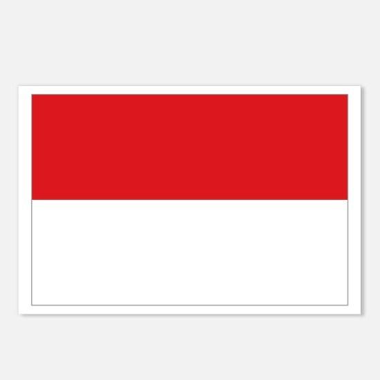 Sang Saka Merah-Putih Postcards (Package of 8)