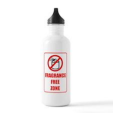 Fragrance Free Zone Water Bottle