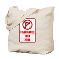 Fragrance Free Zone Tote Bag