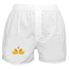 Love Ducks Boxer Shorts