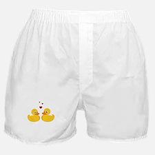 Love Ducks Boxer Shorts