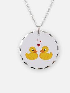 Love Ducks Necklace