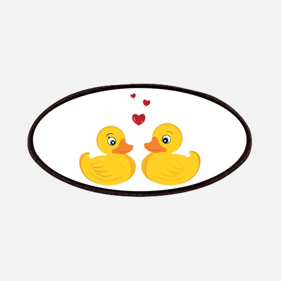 Love Ducks Patches
