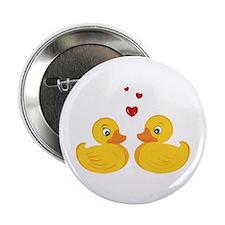 "Love Ducks 2.25"" Button"