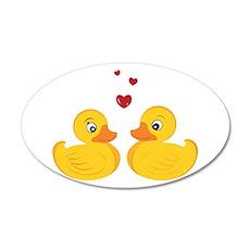 Love Ducks Wall Decal