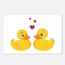 Love Ducks Postcards (Package of 8)