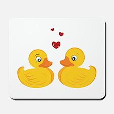 Love Ducks Mousepad
