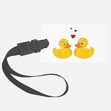 Love Ducks Luggage Tag
