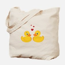 Love Ducks Tote Bag