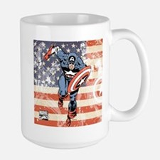 Patriotic Captain America Mug
