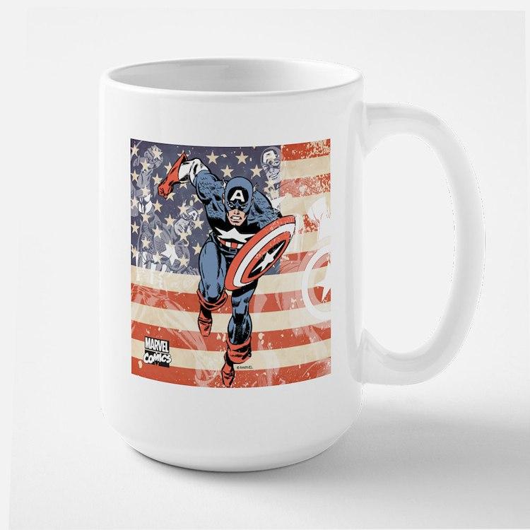Patriotic Captain America Mug