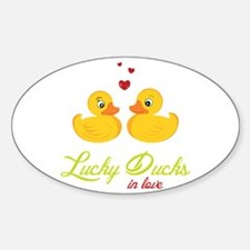 Lucky Ducks Decal