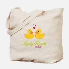 Lucky Ducks Tote Bag