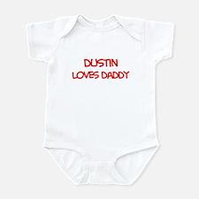 Dustin Loves Daddy Infant Bodysuit