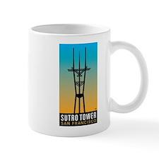 Sutro Tower logo Mugs