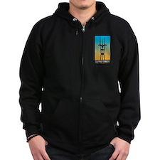 Sutro Tower logo Zip Hoodie
