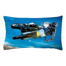Motocross Side Trick Pillow Case