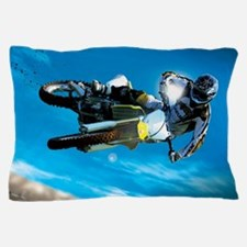 Motocross Side Trick Pillow Case