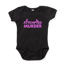 Attempted Murder Murder of Crows Baby Bodysuit