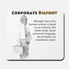 Corporate Bigfoot Mousepad