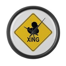 Duck Xing Large Wall Clock