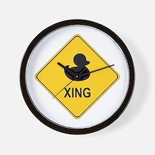 Duck Xing Wall Clock
