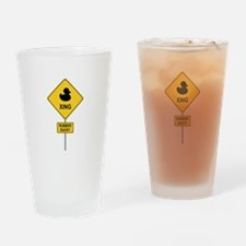 Rubber Ducky Drinking Glass