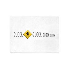 Quack 5'x7'Area Rug