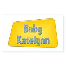 Baby Katelynn Rectangle Decal