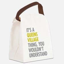Queens Village NY Thing Canvas Lunch Bag