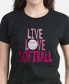 Live, Love, Softball T-Shirt