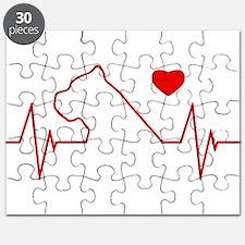 Cane Corso Heartbeat Puzzle