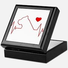 Cane Corso Heartbeat Keepsake Box
