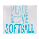 Fastpitch softball player Blankets